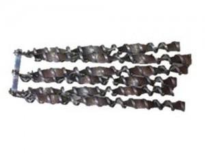 Turbolatorensatz Stahl 14 KW komplett mit Wippe vormontiert und Schraubensatz